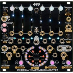 4ms Pedals - Spherical Wavetable Navigator SWN