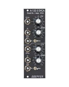 Doepfer A-132-3 Dual linear/exponential VCA Vintage Edition