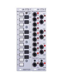 Doepfer A-173-1/2 Micro Keyboard / Manual Gate Modules