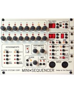 Tom Oberheim - Mini Sequencer