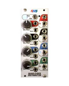 4ms Pedals - Quad Clock Distributor (QCD)