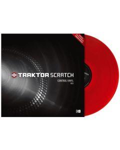 Native Instruments - TRAKTOR SCRATCH Control Vinyl, red