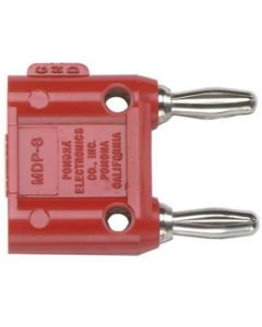 Banana Cable - Non-Shorting Bar Red for Buchla