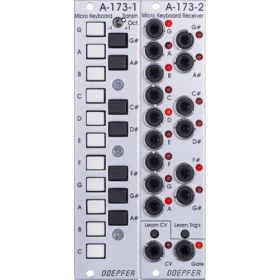 Doepfer A-173-1/2 Micro Keyboard / Manual Gate Modules