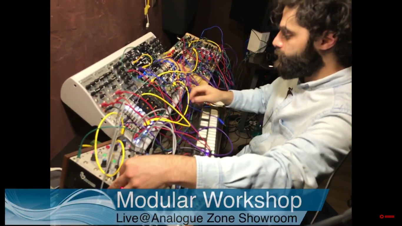 Modular Workshop - Live@Analogue Zone Showroom - click on the image for the latest episode!