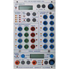 Buchla - 225e MIDI Decoder - Preset Manager