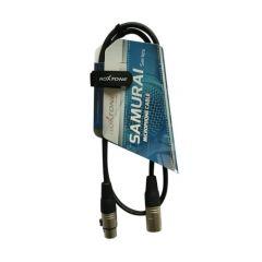 Roxtone - XLR Female - XLR Male Cable 1m