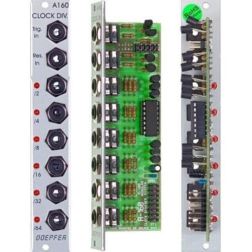 Doepfer A-160-2 Clock Trigger Divider II Module