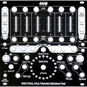 4ms Pedals - SMR Black Faceplate