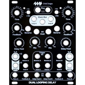 4ms Pedals - STS Black Faceplate