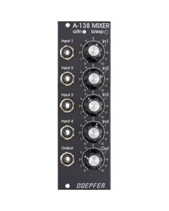 Doepfer A-138a Mixer linear Vintage Edition