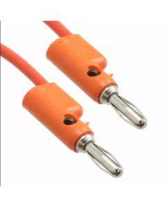 Banana Cable -  30.5cm Orange for Buchla
