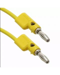 Banana Cable - 60.9 cm Yellow for Buchla