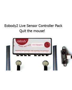 Eowave - Eobody3 Live Sensor Controller Pack (incl. 1 Eobody3 USB8SensorBox + 5 sensors pack)
