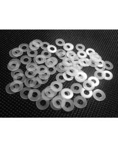 Analogue Zone - Set of 50 Transparent Washers