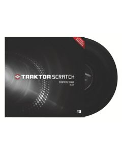 Native Instruments - TRAKTOR SCRATCH Control Vinyl, black